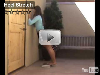 heel stretch video