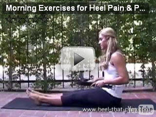 morning heel pain exercises