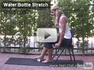heel water bottle stretch 1 video