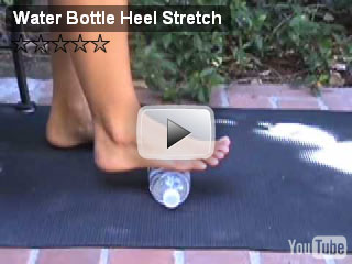 heel water bottle stretch 2 video